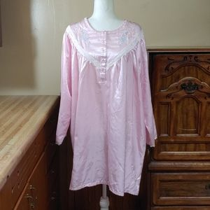 Anthony Richards Cotton Lined Short Nightgown 1X